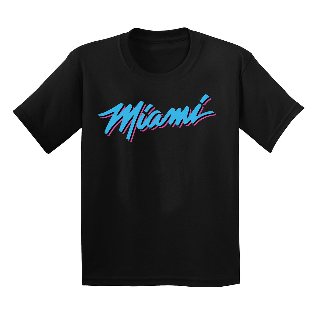 IOTG Miami HEAT Vice Nights Youth Tee - featured image