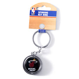 Miami HEAT Spin Logo Key Ring - 1