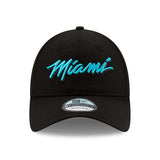 New ERA Miami HEAT Vice Nights MIAMI Script Dad Hat - 1