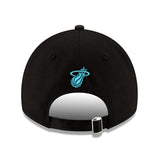 New ERA Miami HEAT Vice Nights MIAMI Script Dad Hat - 2