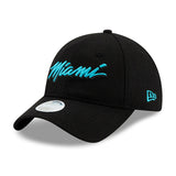 New ERA Miami HEAT Vice Nights MIAMI Script Dad Hat - 3