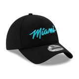 New ERA Miami HEAT Vice Nights MIAMI Script Dad Hat - 4