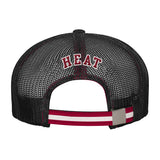 Miami HEAT Youth Stripped Meshback Slouch - 2
