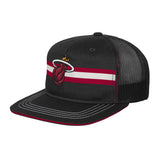 Miami HEAT Youth Stripped Meshback Slouch - 3