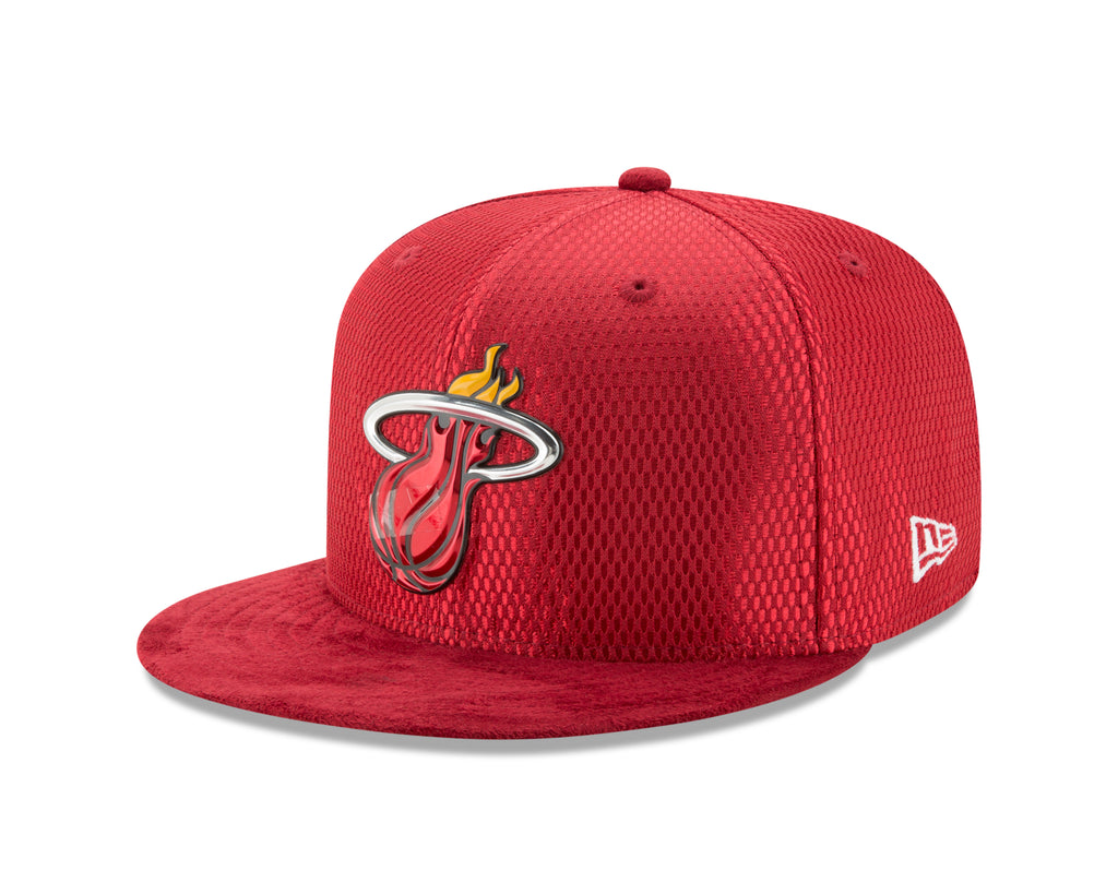 best sneakers 837df c2730 ... coupon code for new era miami heat 17 draft cap fitted 3 3fa8a 09705