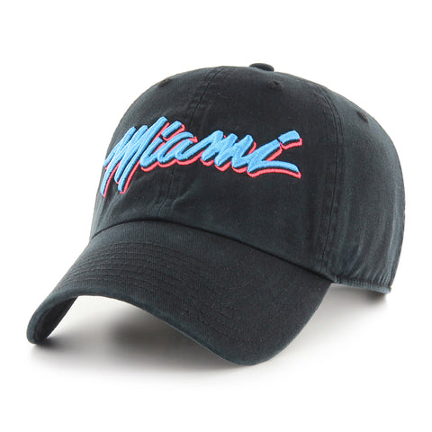 IOTG Miami HEAT Vice Nights Dad Hat Black