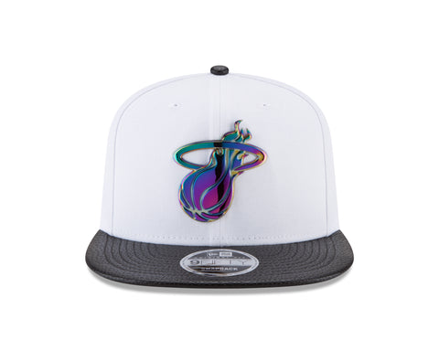 New ERA Miami HEAT Iridescent Metal Snapback