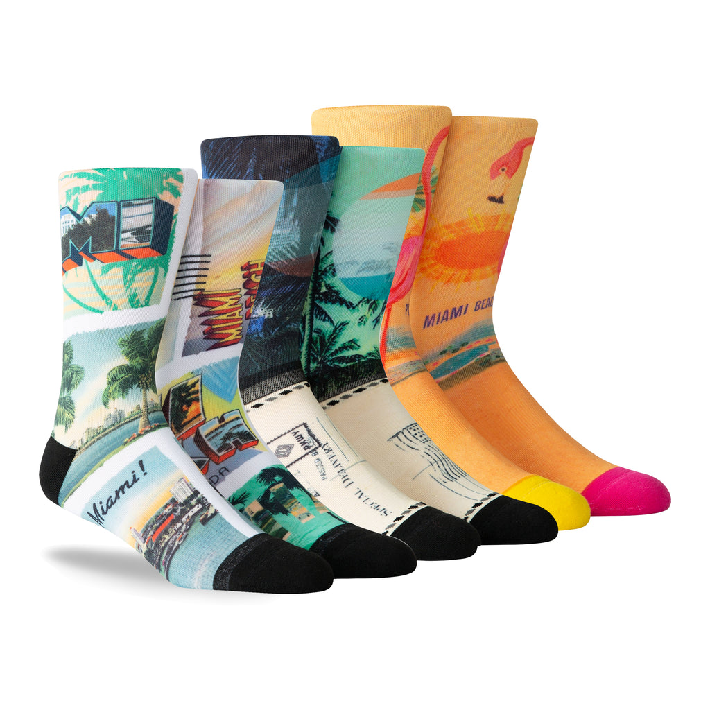 PKWY Dwyane Wade Remix Special Delivery 3 Pack Socks - featured image