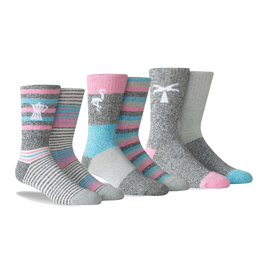PKWY Dwyane Wade Remix Vice as Nice 3 Pack Socks - featured image