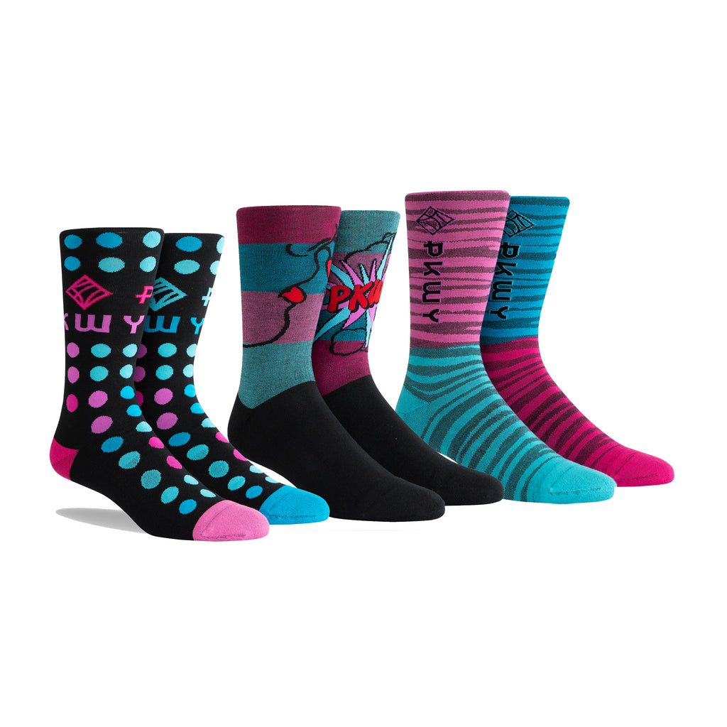 PKWY Dwyane Wade Remix Pop & Mesh 3 Pack Socks - featured image