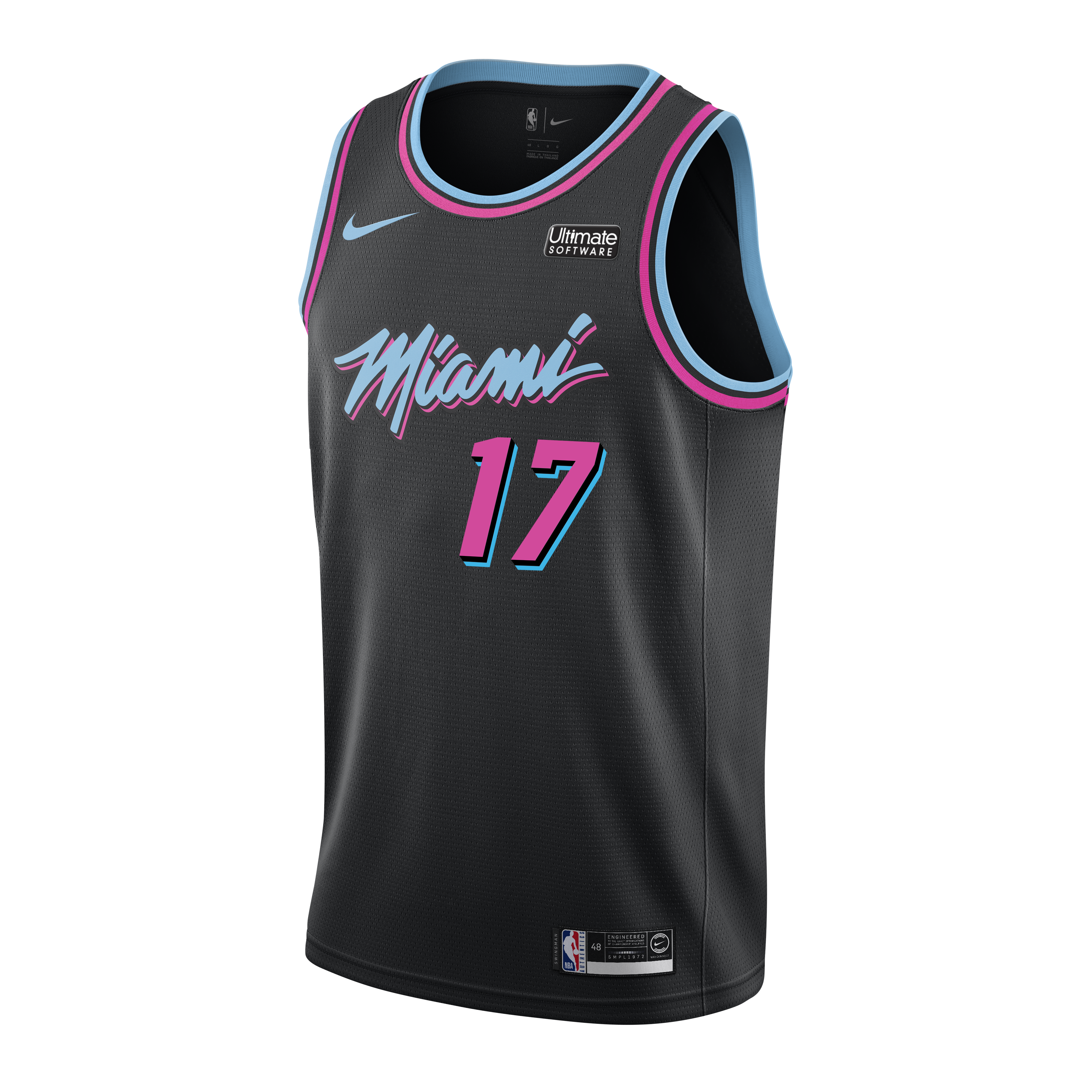 Rodney McGruder Nike Miami HEAT Vice Nights Swingman Jersey - featured image 0a4401fde