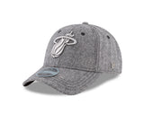 New ERA Miami HEAT Tweed Black Label Fitted Hat - 3