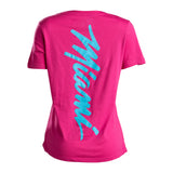 Court Culture Sunset Vice MIAMI Signature Ladies V-Neck - 2