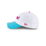 New ERA Miami HEAT Vice Uniform City Edition Dad Hat - 5