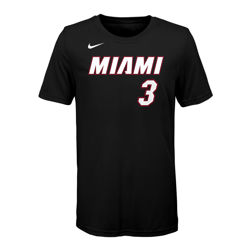 Dwyane Wade Nike Toddler Icon Black Name & Number Tee - featured image