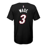 Dwyane Wade Nike Toddler Icon Black Name & Number Tee - 2