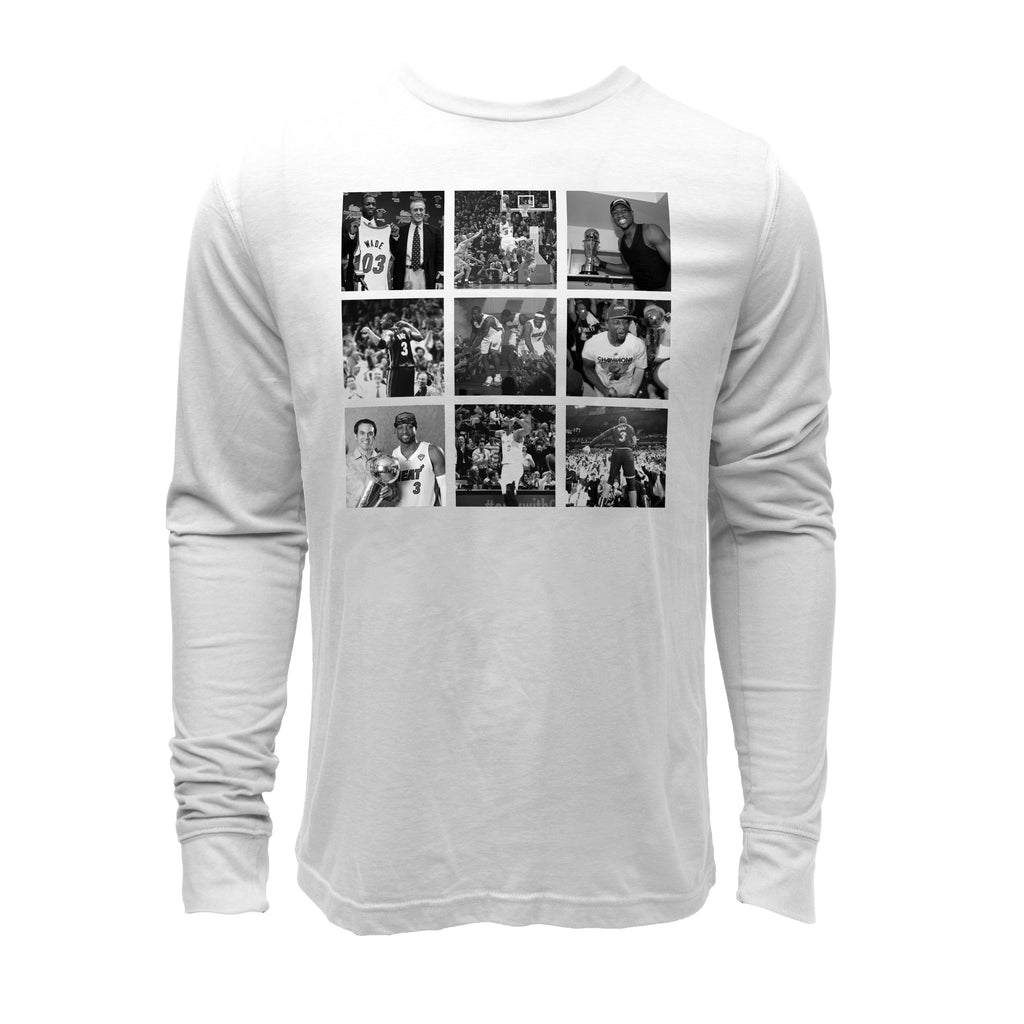 Court Culture Long Sleeve Wade Career Moments Tee - featured image