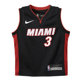 Dwyane Wade Nike Icon Black Infant Replica Jersey - 1