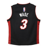Dwyane Wade Nike Icon Black Infant Replica Jersey - 2