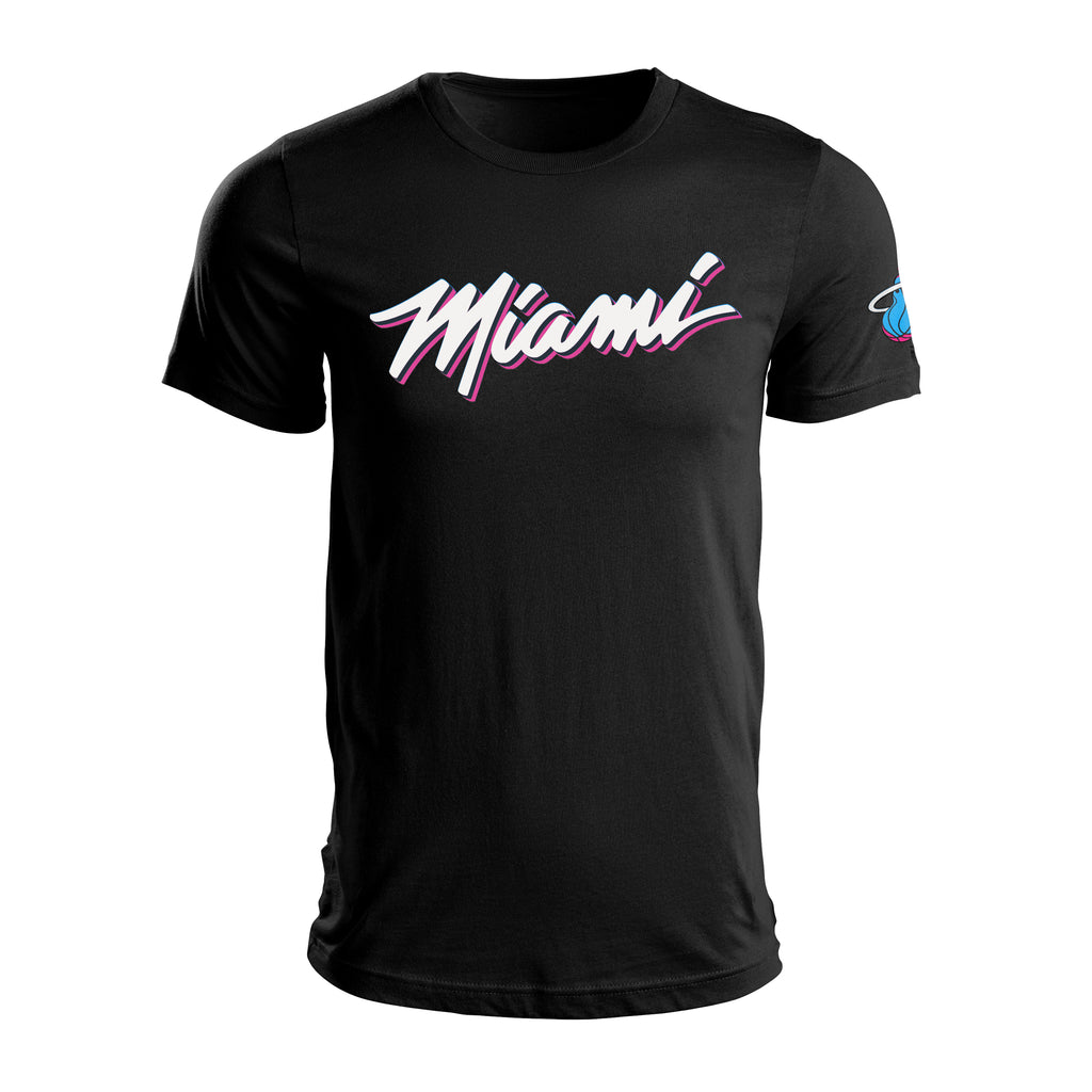 ViceWave Men's Miami Black Tee - featured image
