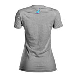 ViceWave Ladies Grey Logo V-Neck - 2