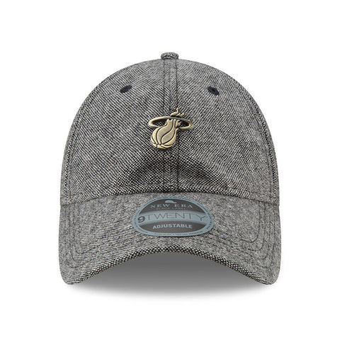 New ERA Miami HEAT Tweed Badge