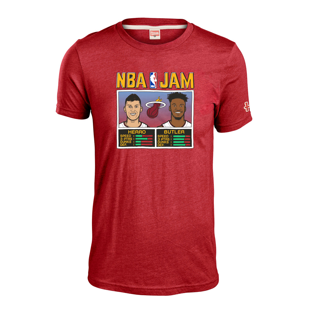 Homage Butler & Herro NBA JAM Red Tee - featured image