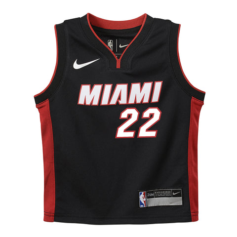 Jimmy Butler Nike Toddler Icon Black Replica Jersey