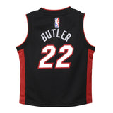 Jimmy Butler Nike Toddler Icon Black Replica Jersey - 2