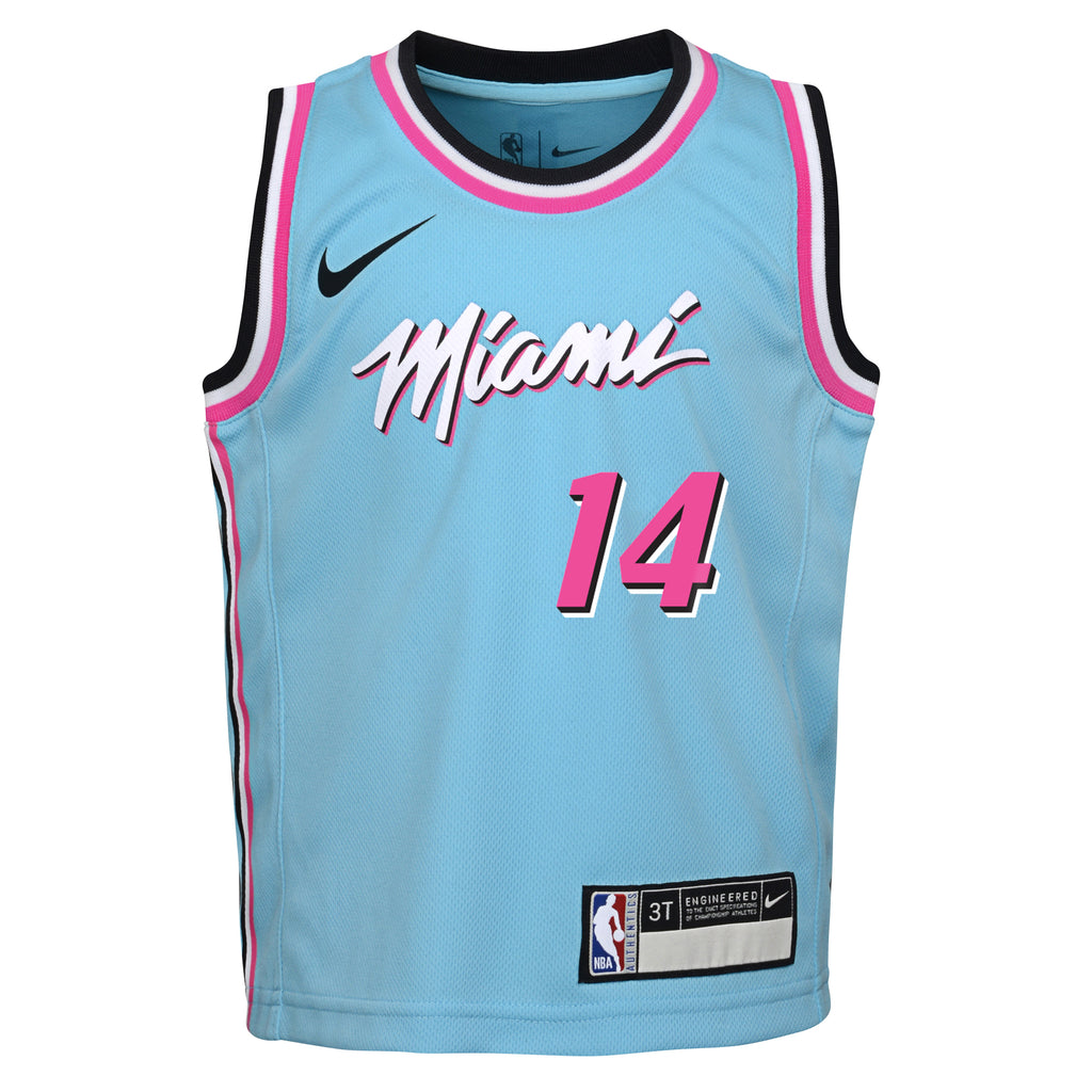 Tyler Herro Nike ViceWave Replica Toddler Jersey - featured image