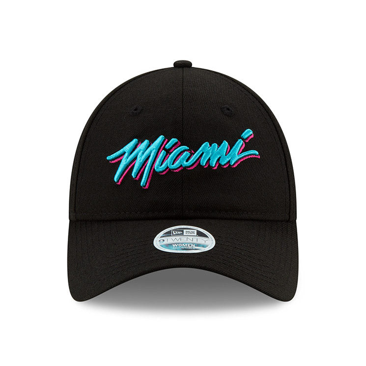New ERA Miami HEAT Vice Nights City Series MIAMI Youth Dad Hat - featured image