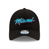 New ERA Miami HEAT Vice Nights City Series MIAMI Youth Dad Hat - 1