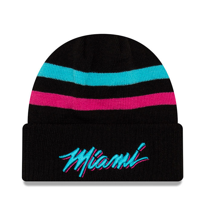 New ERA Miami HEAT Vice Nights City Series MIAMI Knit - featured image