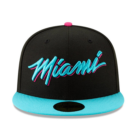 New ERA Miami HEAT Vice Nights City Series MIAMI Fitted Hat