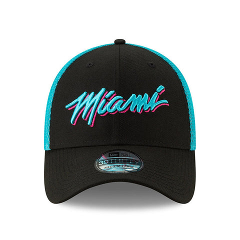 New ERA Miami HEAT Vice Nights City Series MIAMI Flex Hat