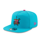 New ERA Miami HEAT Vice Nights Beach Club Golfer Snapback - 3