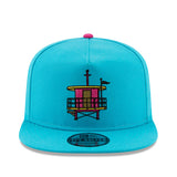New ERA Miami HEAT Vice Nights Beach Club Golfer Snapback - 1