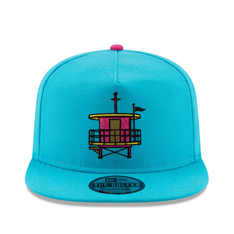 New ERA Miami HEAT Vice Nights Beach Club Golfer Snapback