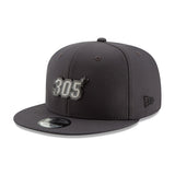 New ERA Miami HEAT 305 Metal Snapback - 3