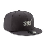 New ERA Miami HEAT 305 Metal Snapback - 4