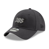 New ERA Miami HEAT 305 Metal Snapback Dad Hat - 3