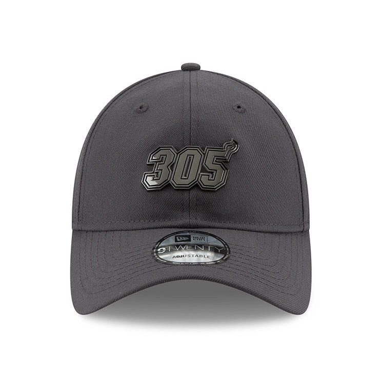 New ERA Miami HEAT 305 Metal Snapback Dad Hat - featured image