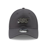 New ERA Miami HEAT 305 Metal Snapback Dad Hat - 1