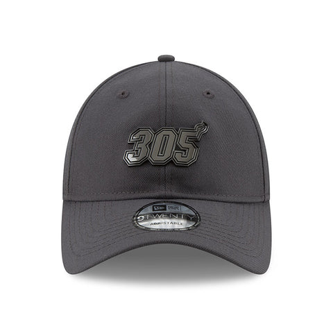 New ERA Miami HEAT 305 Metal Snapback Dad Hat