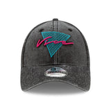 New ERA Miami HEAT Vice Nights Wash Dad Hat - 1