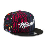 New ERA Miami HEAT Vice Nights Pattern Snapback - 4