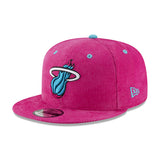 New ERA Miami HEAT Vice Nights Ball Corduroy Snapback - 3