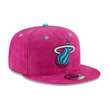New ERA Miami HEAT Vice Nights Ball Corduroy Snapback - 4