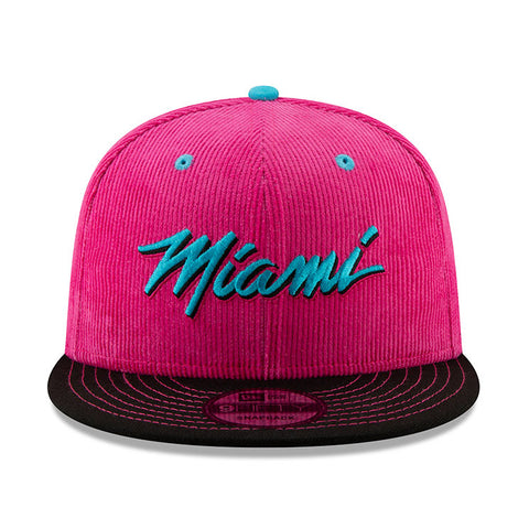New ERA Miami HEAT Vice Nights Miami Corduroy Snapback