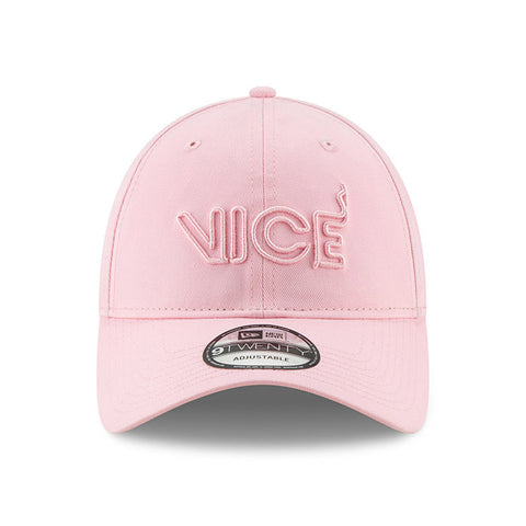 New ERA Miami HEAT Vice Nights Pink Dad Hat